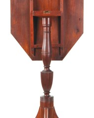 Lot 143: Inlaid Tip-Top Candlestand