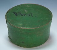 Lot 14: 19th c. Original Grain Painted Pantry Box