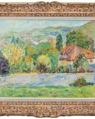 Lot 184A: Oil Paintng by C. Craciun
