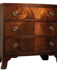 Lot 195: Early 19th c. Hepplewhite Chest