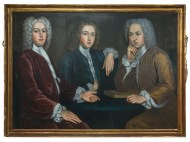 Lot 218A: 20th c. Oil Painting