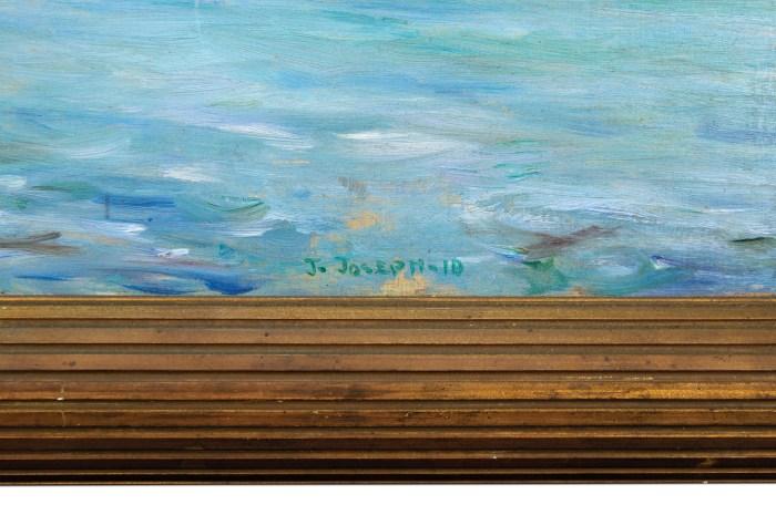 Lot 21: Oil of Venice