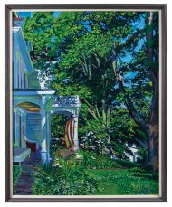 Lot 229: Summer Landscape Painting