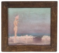 Lot 22: Oil Painting by Agnes Pelton