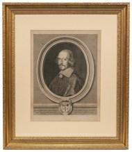 Lot 244: Three Framed Engravings