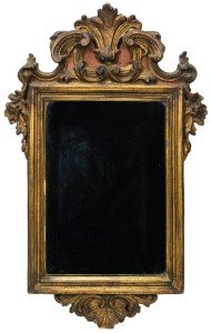 Lot 262: Continental Looking Glass