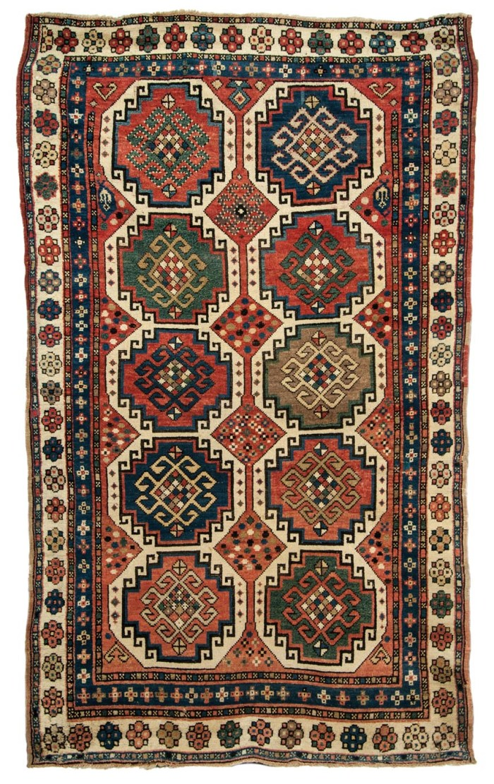 Lot 38: Kazak Oriental Area Rug