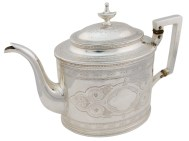 Lot 43A: Sterling Silver Teapot