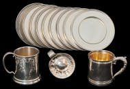 Lot 46A: Group of Sterling Silver