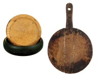 Lot 52: Treenware Bowl and Cutting Board