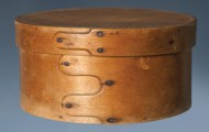 Lot 54: Early 19th c. Pantry Box