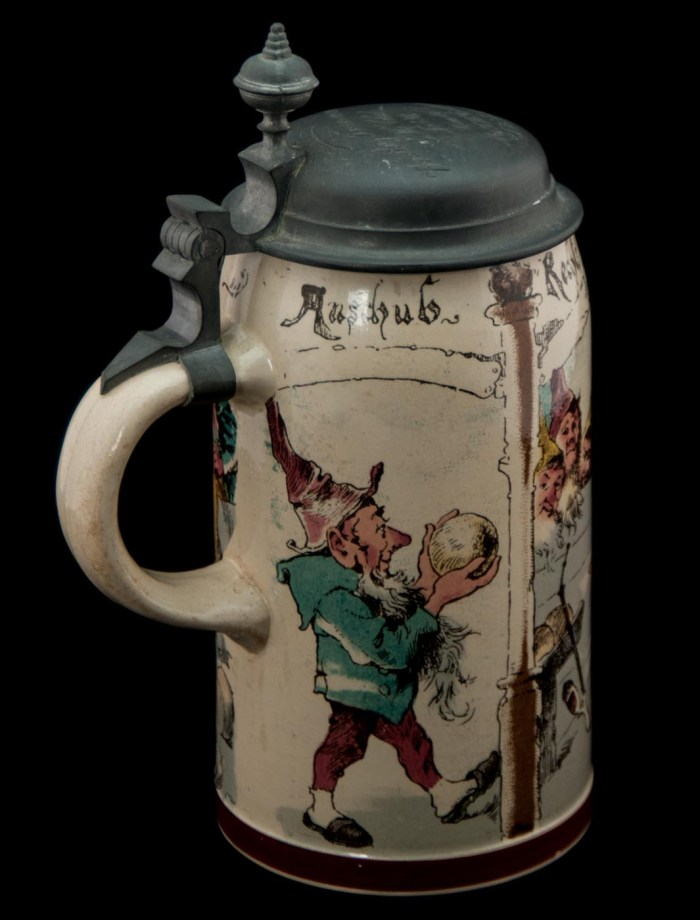 Lot 71B: German Stein