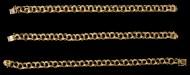 Lot 77B: Gold Bracelets