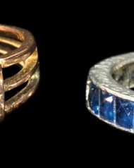 Lot 79A: Two Rings
