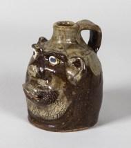 grotesque, face, jug