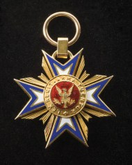 14k, gold, badge, military, loyal, legion