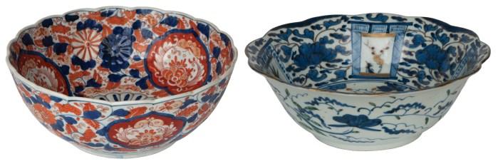 imari, bowls