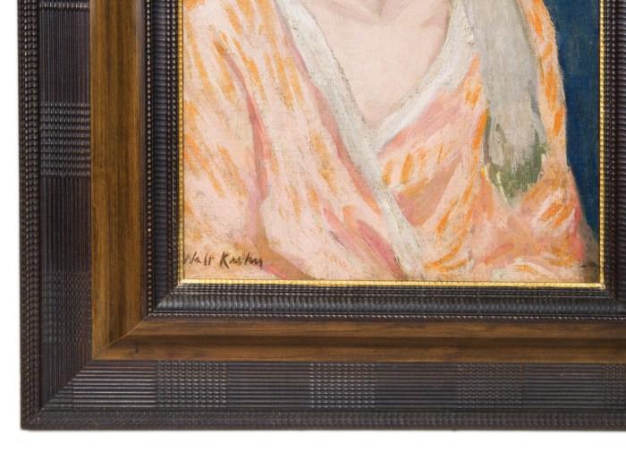 walt, kuhn, oil, painting, portrait