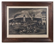 etching, georges, rouault