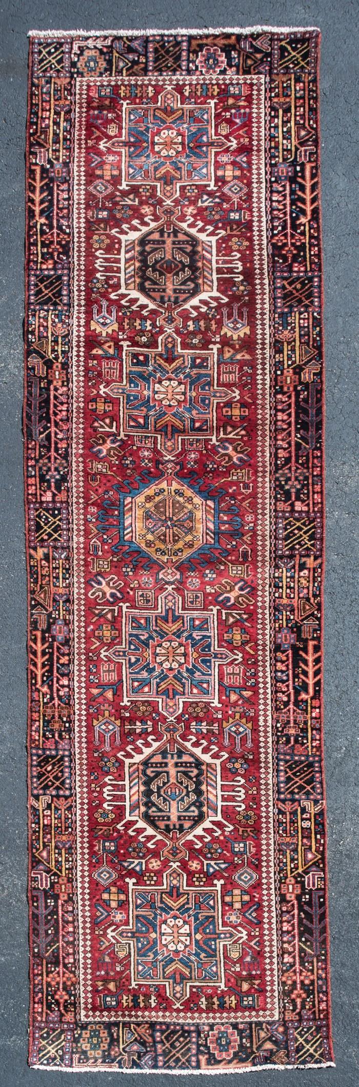 oriental, rug, persian, karajah, runner