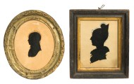 silhouettes, brass