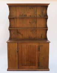 pine, stepback, cupboard