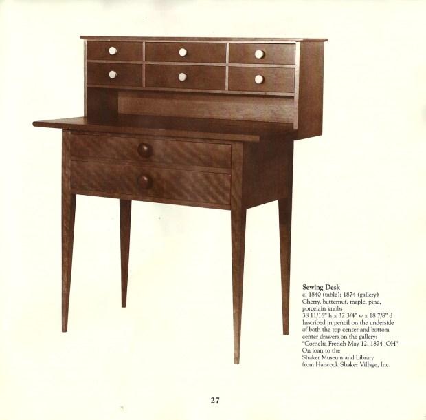Orren Haskins Shaker Desk