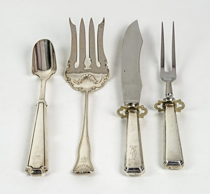 Four Pieces Of Sterling Flatware