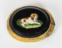 Victorian Micro-Mosaic Pin