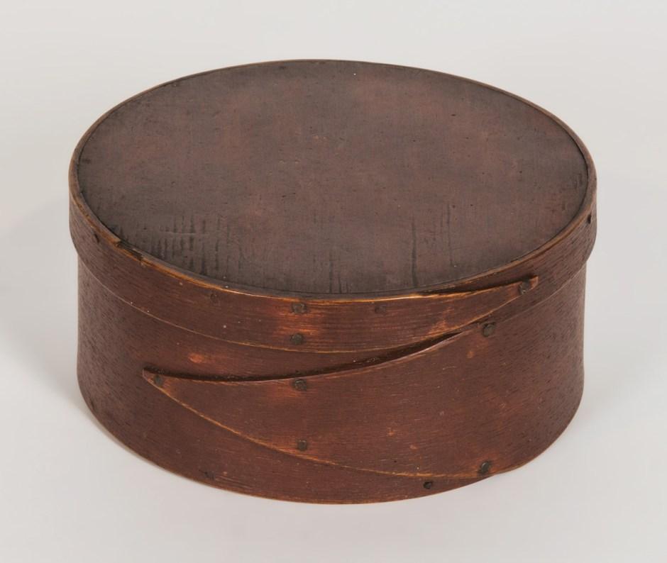 19th C. Round Pantry Box