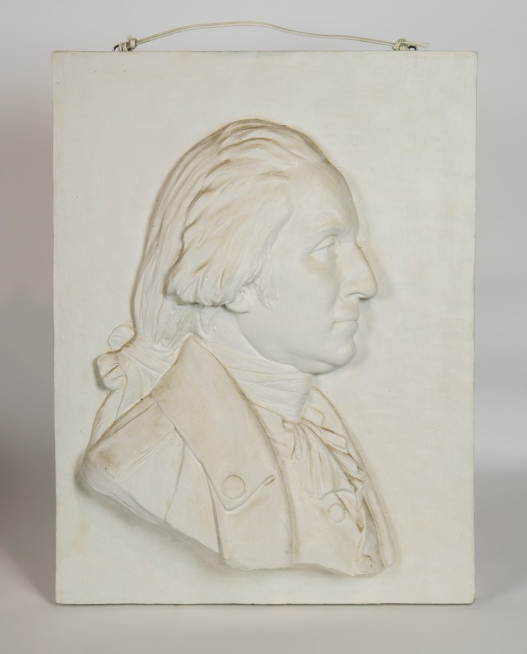 Plaster Plaque of George Washington