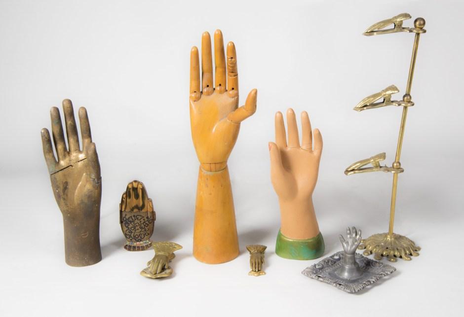 Vintage Glove Displays
