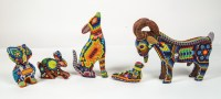 Beaded and Carved Objects