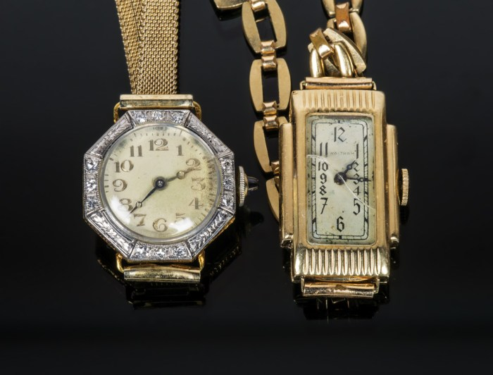 Two Ladies Wristwatches