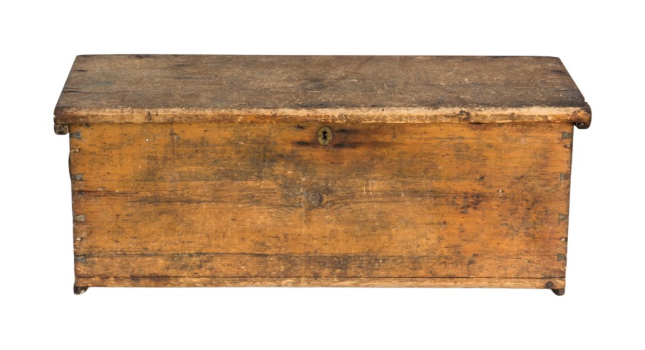 Early 19th C. Sea Chest