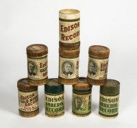 Edison Music Rolls and Cases