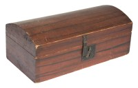 19th C. Dome Top Document Box