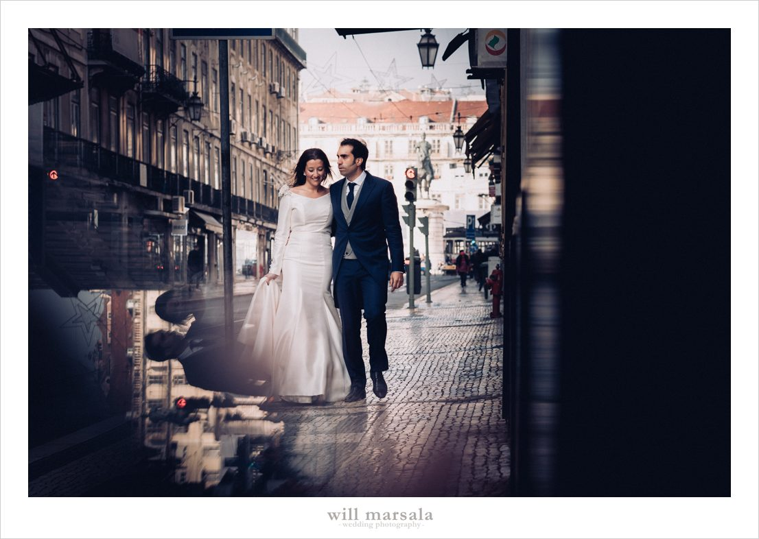foto en lisboa de la postboda de Aroa y Raúl hecha por Will Marsala