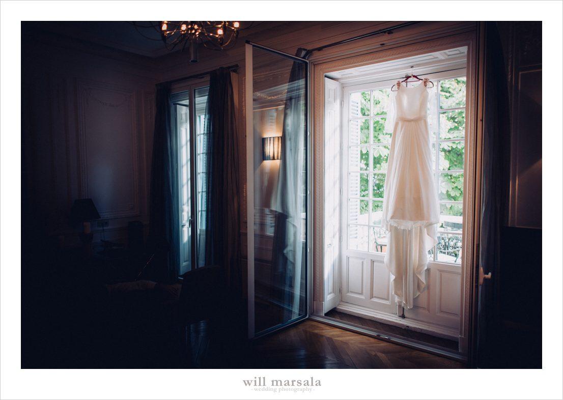 habitación del hotel santo mauro