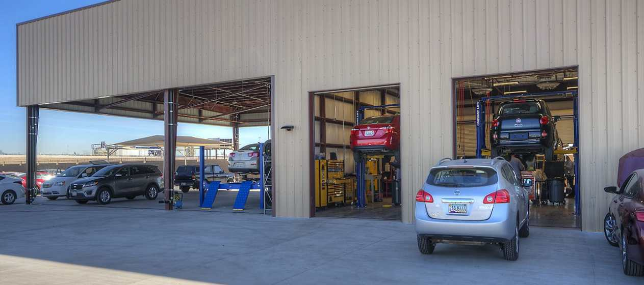 Enterprise Vehicle Storage Facility