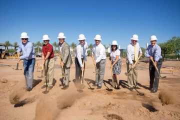 Officials break ground on new Chandler 202 office space
