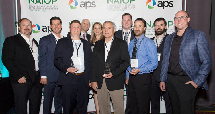 Willmeng Construction Team Celebrates Best of NAIOP 2018 Awards