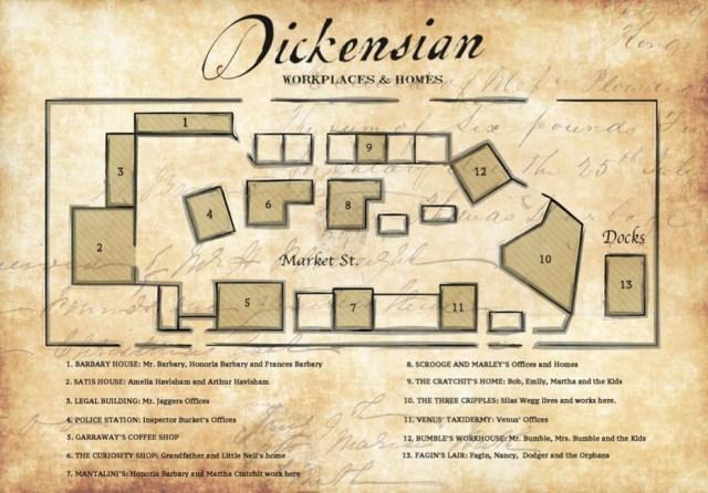 Dickensian-set