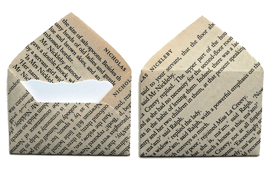Charles Dickens Envelopes