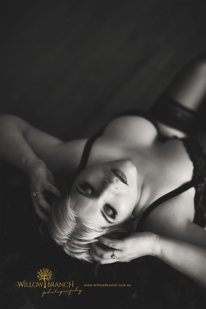 Angel Wing Boudoir Photography