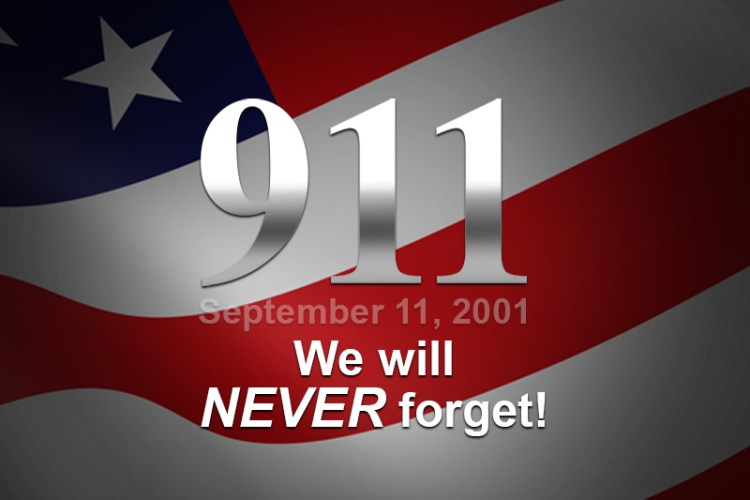 911 We will NEVER forget!