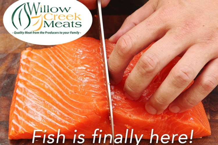Seafood Products at Willow Creek Meats