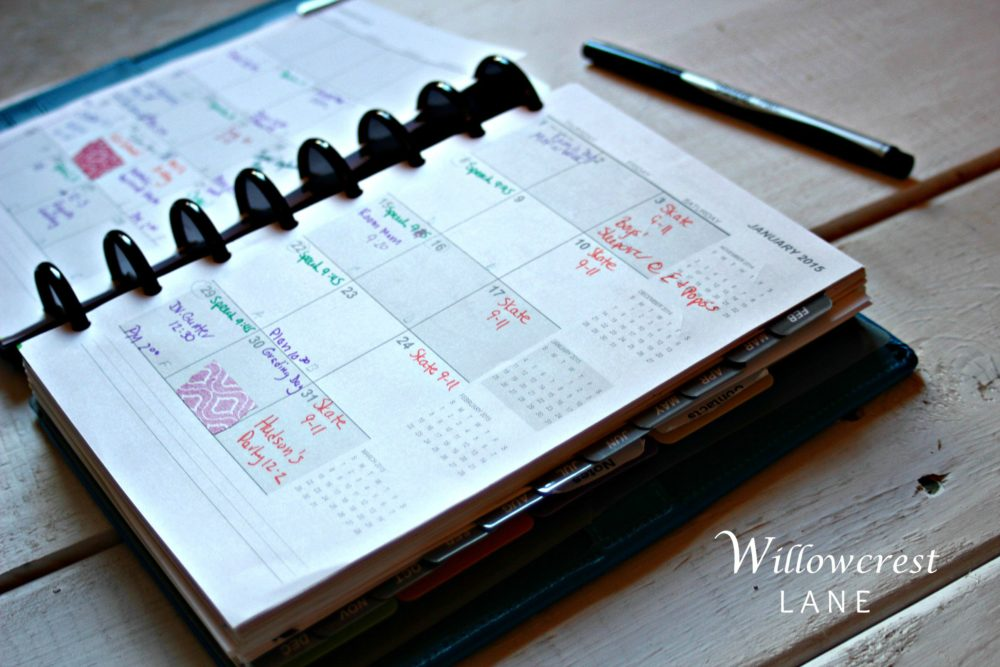 IWillowcrest Lane Planner