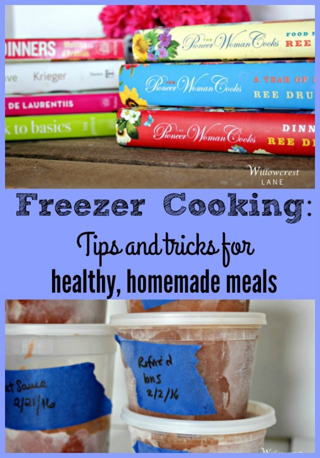 Freezer Cooking for your family Pin