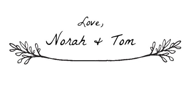 Love Norah and Tom Only